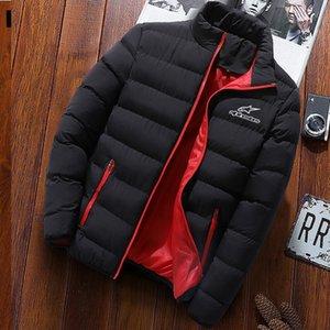 2020 Winter Alpine Stars Mode Jacke Männer Stehkragen Herren-Parka-Jacke der Männer feste dicke Jacke und Mantel Männer Wintermantel C1018