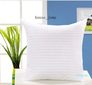 Classic Solid Pure Cushion Core Soft Head Throw Pillow Inner PP Cotton Filler Health Care White Cushion Filling 30*50 45*45 50*50 60*60cm