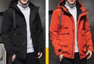 2020 new Men winter coats jackets Fashion Hooded Thick Warm Coat outdoor MAN's HOMME Doudoune veste Manteau D'hiver