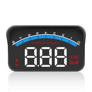Universal M6S Car HUD Display ODB II GPS Speedometer Tachometer Speed Water Temperature Voltage LED Head Up Display Projector Auto Truck SUV