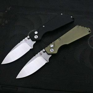 ProTech сторона Strider открыт автоматический нож одинарного действия D2 лезвие Охота Карманный нож складной рыбалка самообороны нож 19012