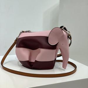 Классический слон сумка Последние цветные полосы печати Принимайте импортные тележки 92680 изящная сумка Его великолепные цвета уменьшают возраст и поглощают штраф