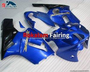 Pour Kawasaki Ninja 2002 2004 2004 2005 2006 Blue ZX12R ZX-12R ZX 12R Catériel de carénage de la pièce de carénage (moulage par injection)
