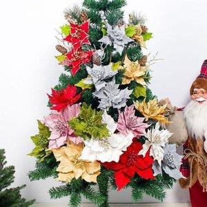 60G Navidad Simulación Pine Aguja Hermosa Decorativa Flores Artificiales Decoración de Árbol de Navidad Colgando Garland @ 251