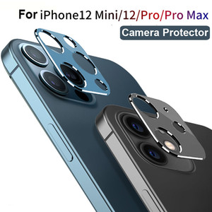 Ultra Thin Metal Camera Lens Protectors for IPhone 12 Mini Pro Max Camera Case for iPhone12 Series Protective Covers
