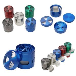 Lega di sigaretta Breaker Retina girante della copertura piccolo cassetto Herb Rotary Mills multi colore Grinding Fumatore portatile di modo 18 G2 5NF