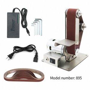 Kenar AoGE # Kesme Dikey Mini bantlı zımpara parlatıcı Makinesi DIY parlatma Zımpara Makinesi Sabit açılı Açacağı Masa