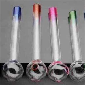 Artigianato circolare narghilé sferico Artigianato di colore Vetro Tubi per acqua rotonda DAB Sferica Lungo Smoking Bangs Accessori per fumare 2HP C2