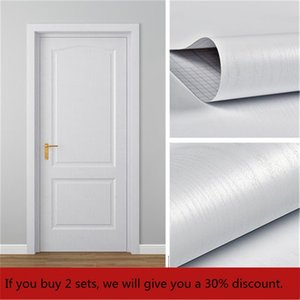 2 PCS 30% Off Wood Vinyl Sticker Roll Adhesive Contact Paper Doors Cabinet Desktop Waterproof PVC Wallpaper Furniture Stickers