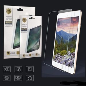 For ipad Air 4 2 3 5 6 7 8 Pro 11 Mini 4 5 New 10.2 inch Tempered Glass Anti-Scratch 0.3MM Screen Protector Film with Paper Package