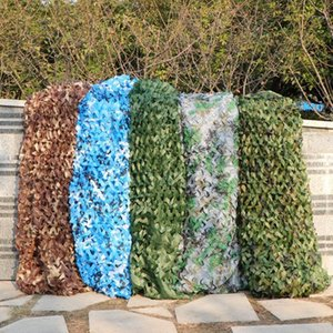 2x4 / 3x5 / 4x5 / 5x5m Doppelschicht Tarnung Net Sun SHELTER CAMO NETTING CAMPING Home Decoration Outdoor Shade Sails X1 ++ 1