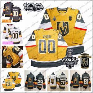 2020 personnalisés Vegas Golden Knights New Jersey All-or 2018 Coupe Stanley Fleury Pirri Eakin Reaves Tuch Pierre Karlsson Schmidt Nosek Gris Blanc