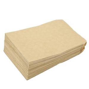 Depolama Çanta Zarf Stil Kraft Kağıt Tohum Torba 6x11 / 9x13 Packaging 100pcs Kraft Kağıt Çanta mısır Buğday Pirinç tohumları