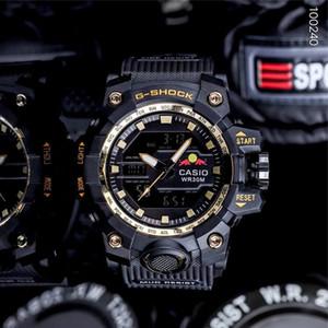 Neue Mens-Sport-Uhren-Armband G Stil Outdoor-Quarz-LED-Männer Shock Uhr Große Wahl Digital Clock montre homme