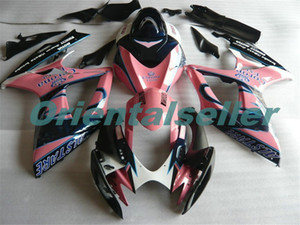 Body For SUZUKI GSX R600 GSX-R750 GSXR-600 GSXR600 06-07 GSX R750 GSXR 600 750 K6 GSXR750 2006 2007 Fairing kit New Factory pink black AD145