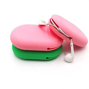 Creative New Portable Anti-Fall Mini Earphone Bag Silicone Charger Storage Box Household Storage Bag