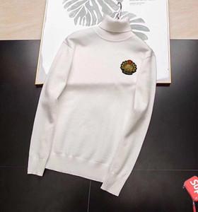 WJS001 20ss Moncl Erkek Tasarımcı Kapüşonlular Moda Hoodie Sonbahar Kış Erkek Uzun Kollu Kazak Giyim Sudadera Tişörtü Turtleneck