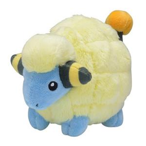 Orijinal Cep Canavar Mareep Peluş Bebek Dolması Hayvanlar Oyuncak Sevimli Şekil 14 cm Küçük Çocuk Hediye Y1216