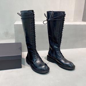 Новые осень зима рыцарские армии сапоги из натуральной кожи женщин кружева молнии бедра высокие сапоги Femininas Sexy Boots