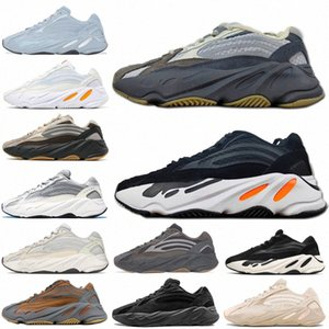 2021 Dalga Koşucu 700 V1 V2 V3 Mnvn Erkek Kadın Ayakkabı Aspil Güneş Kil Kahverengi Azareth Alvis Azael Kemik Atalet Spor Sneakers TrainersXVex #