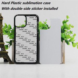 Blank 2D sublimation hard pc case for iPhone 12 mini pro max 11 X XR XS max 8 plus with Aluminum insert plate