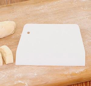 Vente en gros - 50xplasique de pâte de pâte de glaçage de glaçage de gâteau décorateur de gâteau à pâtisserie pâtisserie plaine Spatules lisses Sweet C QYLCPR Comb2010