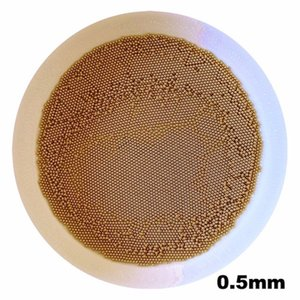 0.5mm Brass Solid Bearing Balls (H62)