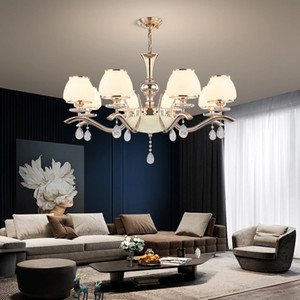 Modern Chandelier American Style Dining Room Living Room Lighting Fixture Pendant Lamp for Bedroom Villa Decor