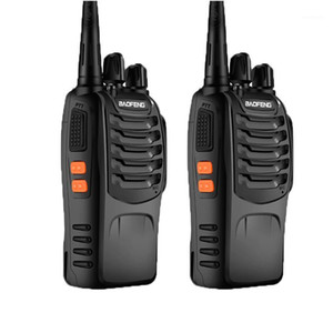 2pcs lot BAOFENG BF-888s Walkie Talkies UHF400-470MHZ Portable Two Way Radio with LED and Earpieces1