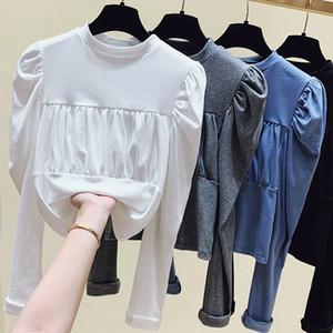 Women Oversized T Shirt Clothing Vintage T Shirts Egirl 2020 Fall Winter Fashion Leisure Streetwear long sleeve Tops