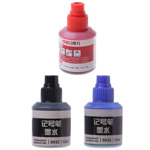 12ml Waterproof Instantly Dry Graffiti Paint Pen Oil Ink Refill For Marker Pens L4MD