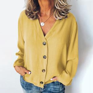 Mjartoria fashion women's shirt sexy women's shirt Neck Top Shirt women's desk beautiful large blouse