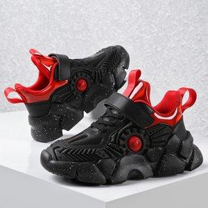 Chaud KJEDGB Nouveau résistant à l'usure garçons d'hiver Casual enfants Sport Chaussures Kinder Schuhe Soutien Dropshipping