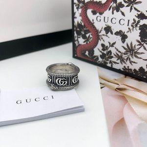 Moda 925 anéis de caveira prata moissanite anelli bague para homens e mulheres partido presente promessa campeonato amantes de jóias com caixa