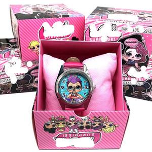 hediye oyuncak Sürpriz Bebeklerin lols Bebeklerin silikon izle çocuk kuvars bilek rastgele renk rastgele 1pcs Moda karikatür kızın izle oyuncak