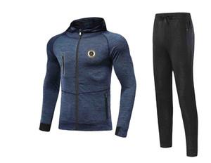 20 21 Newest Spezia Calcio Jacket Footbal Jersey Pant Adult Soccer Set winter tracksuit men Jacket warm suits
