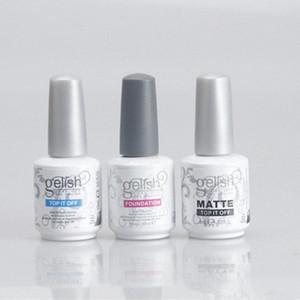 Harmonia de unhas de gel ESTRUTURA Polish Soak Off Limpar unhas de gel LED UV Fundação Top It Off Nail Art Gel Polish W2h3 #