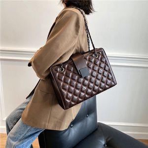 Старинные пакеты решетки ретро PU кожаные сумки для женщин 2021 сумка на плечо леди роскошь маленькие сумки и кошельки X125H