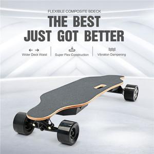 90mm 휠 40km/h 스포츠 스쿠터 W34807114와 재고 USA 4 바퀴 저렴한 롱 보드 전기 스케이트 보드