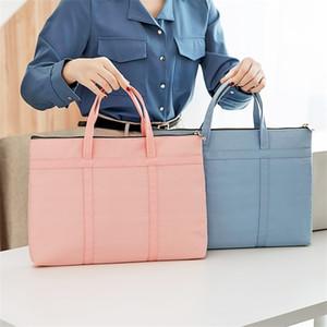"Fashion Women's Briefcase A4 Document Bags Female Book Handbag Women 14"" Laptop Briefcases Neutral Office Commuter Bag 2020 Q1104"