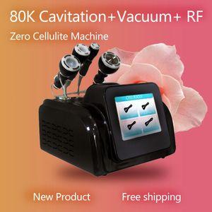 2020 Portable 80k lipo laser rf cavitation body contouring vacuum cavitation system machine weight l