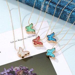 Kinfolk Boho Butterfly Collares para Mujeres Declaración Regalos Colgante Jewlery Collar Mujeres Chicas Joyería de fiesta