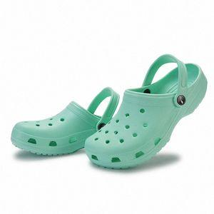 women Sandals Summer Outdoor shoe Beach Shoes Men Slip on Garden Casual Water Shoes Women Sandalias size36-44 bqfD#