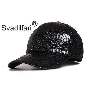 Men's Hats Classic Crocodile Pattern Baseball Real Leather Caps Spring Autumn Adjust Size Visor Cap Snapback Male Bone Dad's hat 201021