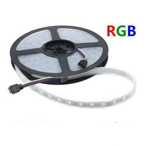 Waterproof Tubo IP67 Silicone 5M 300led DC 12V RGB LED Strip 5050 SMD 60LED m DIY Partido flexível luz ao ar livre