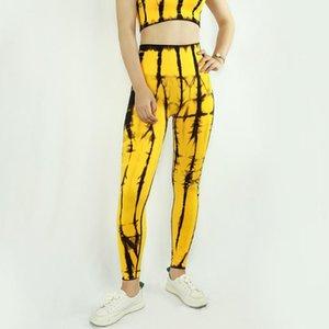 High Waist Stretch yoga leggings seamless tie dye Tummy Control workout pants fast dry fitness yoga pants for women