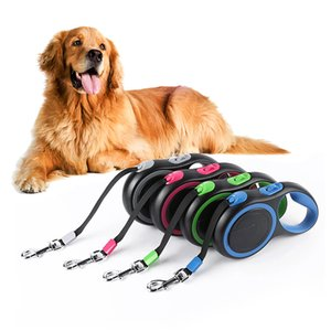 Durable Retractable Pet Dog Leashes For Large Dogs Automatic Extending Traction Rope Retractable Big Dog Pet Walking Leash Leads