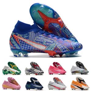 Nike Mens FG Pro morsetti di calcio Hi Corea bambini Mbappe Rosa Scarpe Donna Superfly Sancho Elite esterna CR7 Mercurial Scarpe da calcio