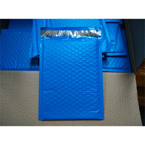 Style [PB#69+]- Blue 6.5X9inch   165X229MM Wholesale-New Usable space Poly bubble Mailer envelopes padded Mailing Bag Se