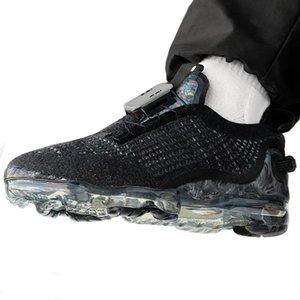 2020 zapatos de los hombres de lanzamiento sin cordones Moc Flyease Triple Black entrenadores deportivos zapatillas de deporte para hombre de los zapatos de las mujeres de los zapatos corrientes